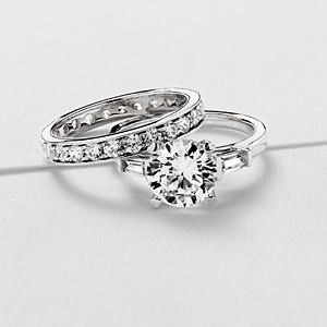For the Engagement Ring with Tapered Baguettes photo
