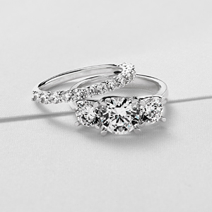 For the Trilogy Engagement Ring Setting photo