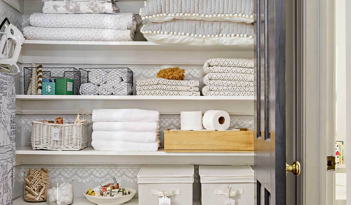 Outfit the Ultimate Linen Closet