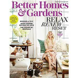 Better Homes & Gardens January 2017 Issue photo