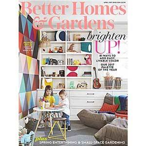Better Homes & Gardens April 2017 Issue photo