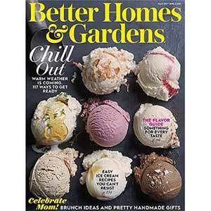 Better Homes & Gardens May 2017 Issue photo