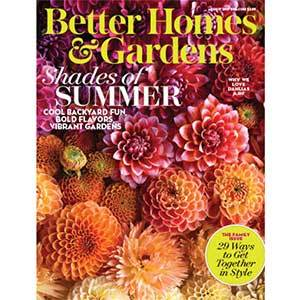 Better Homes & Gardens August 2017 Issue photo