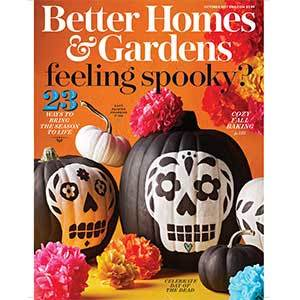 Better Homes & Gardens October 2017 Issue photo