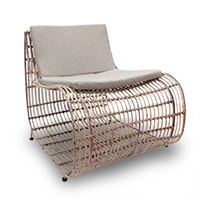 Woven chair from Overstock photo