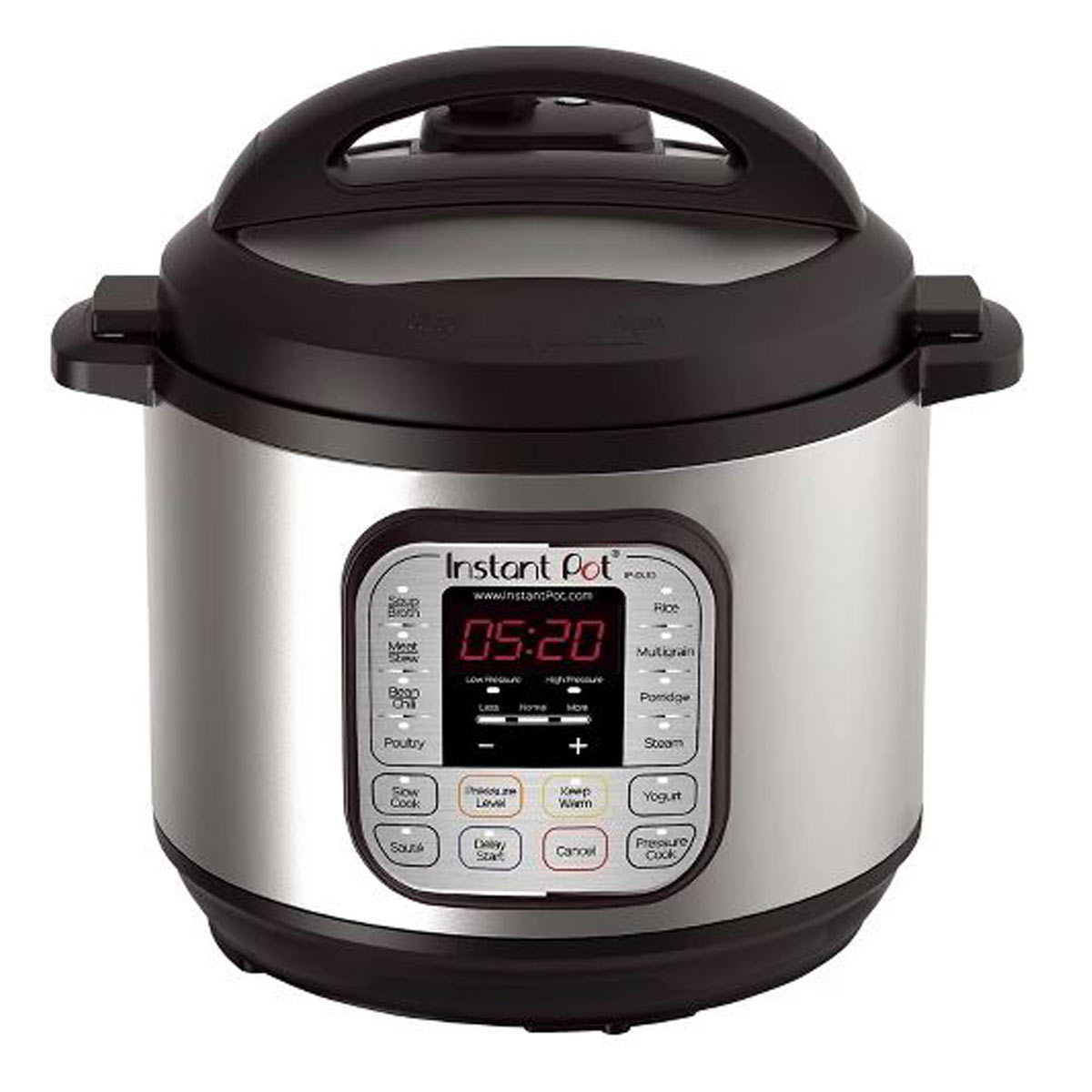 8-quart Instant Pot Duo in stainless steel photo