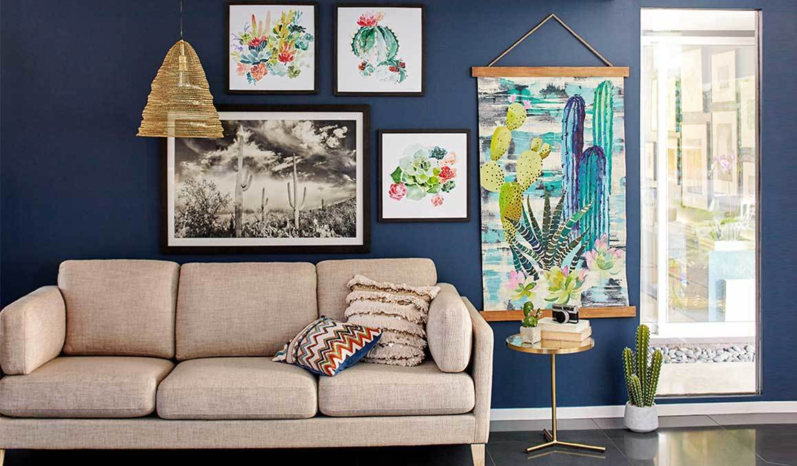 Create a Picturesque Gallery Wall in Any Room of Your Home