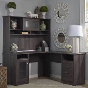Overstock Desk with Hutch photo