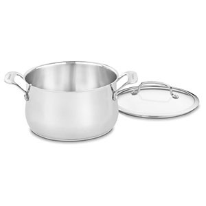 Target Cuisinart stainless steel dutch oven photo