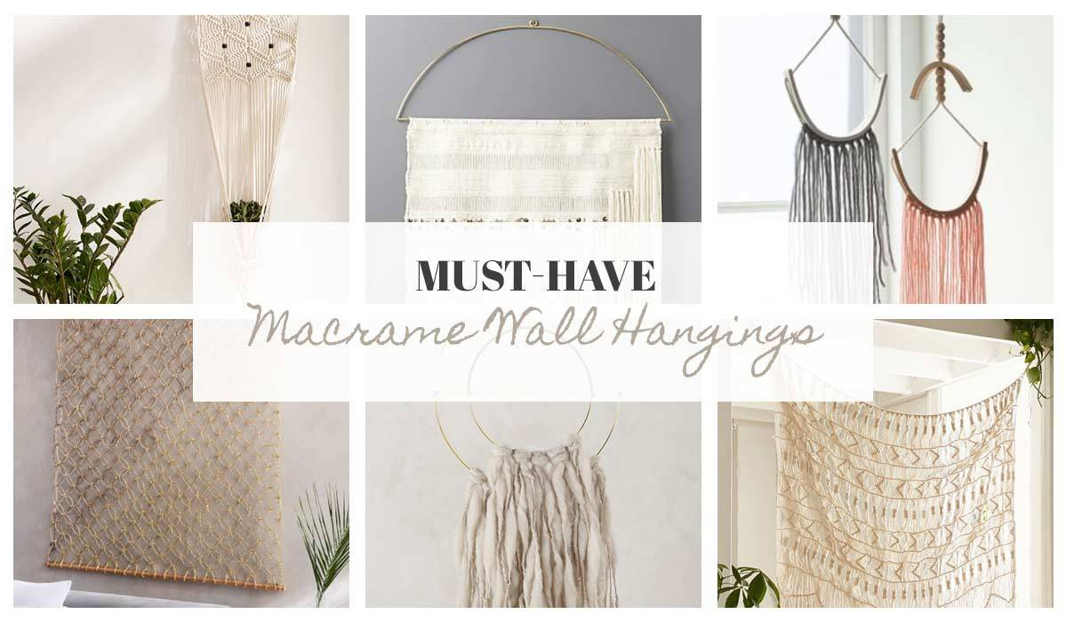 Must-Have Macrame Wall Hangings for Your Boho Space
