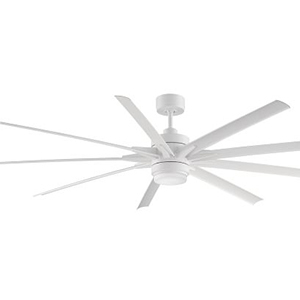 Pottery Barn white indoor/outdoor ceiling fan photo