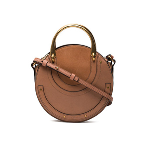 tan round crossbody Chloe bag from Farfetch photo