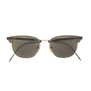 black-shaded Thom Browne sunglasses from Farfetch photo