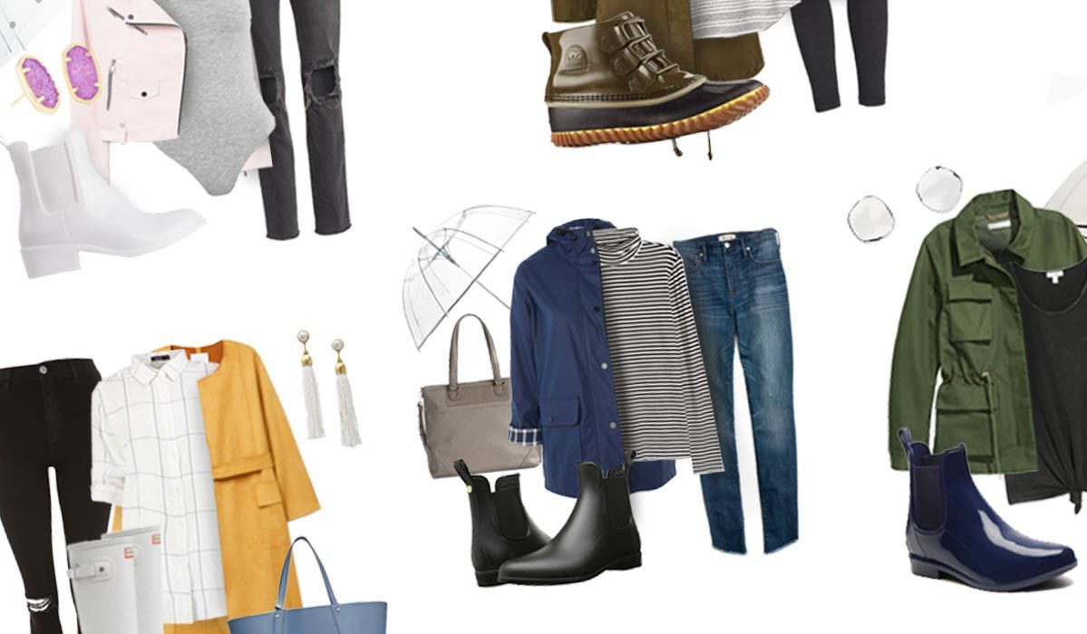 Get the Look: How to Style Your Rain Boots