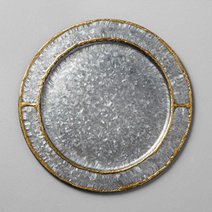 Target Hearth and Hand galvanized charger plate photo