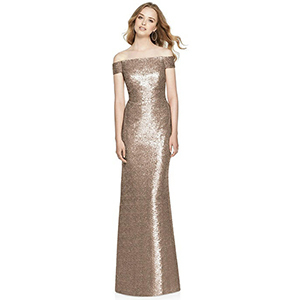 cd4c480767 Off-the-Shoulder Bridesmaid Dresses That Will Flatter Every Figure ...