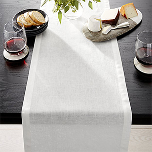 Crate and Barrel table runner photo