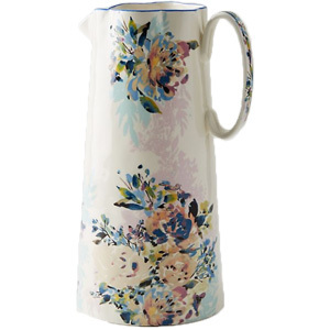 Floral pitcher from Anthropologie photo