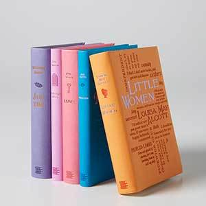 Classic novels with leather covers photo