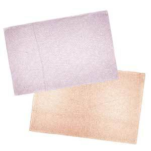 Pink and Copper Leather Place Mats photo