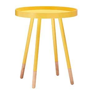Outdoor Yellow Tray Table photo