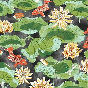 Lotus Wallpaper with Black Background photo