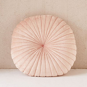 Blush Round Throw Pillow from Urban Outfitters photo