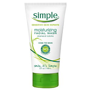 Simple Moisturizing Facial Wash for dry or sensitive skin photo