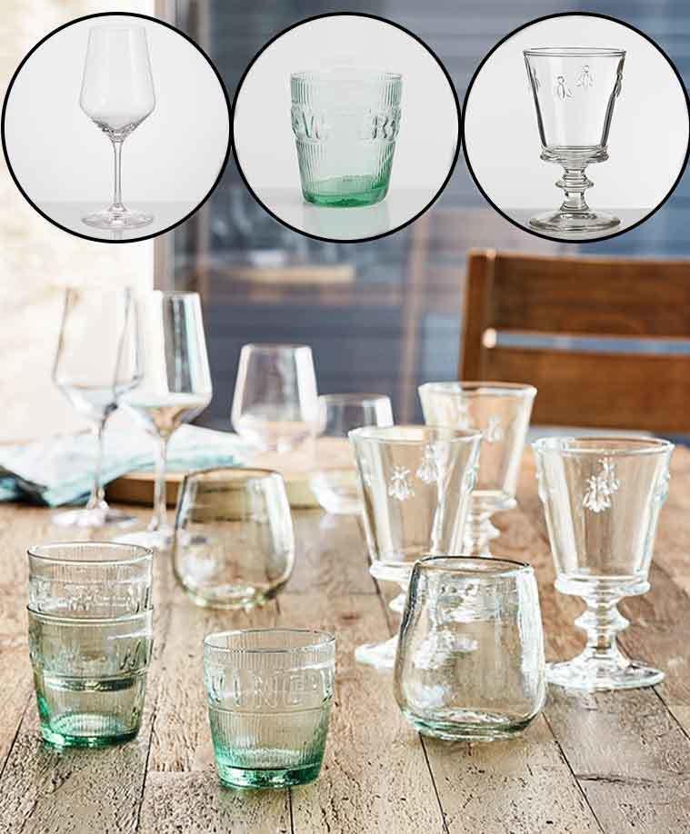 World Market stemware featuring wine glasses, tumblers, and goblets photo