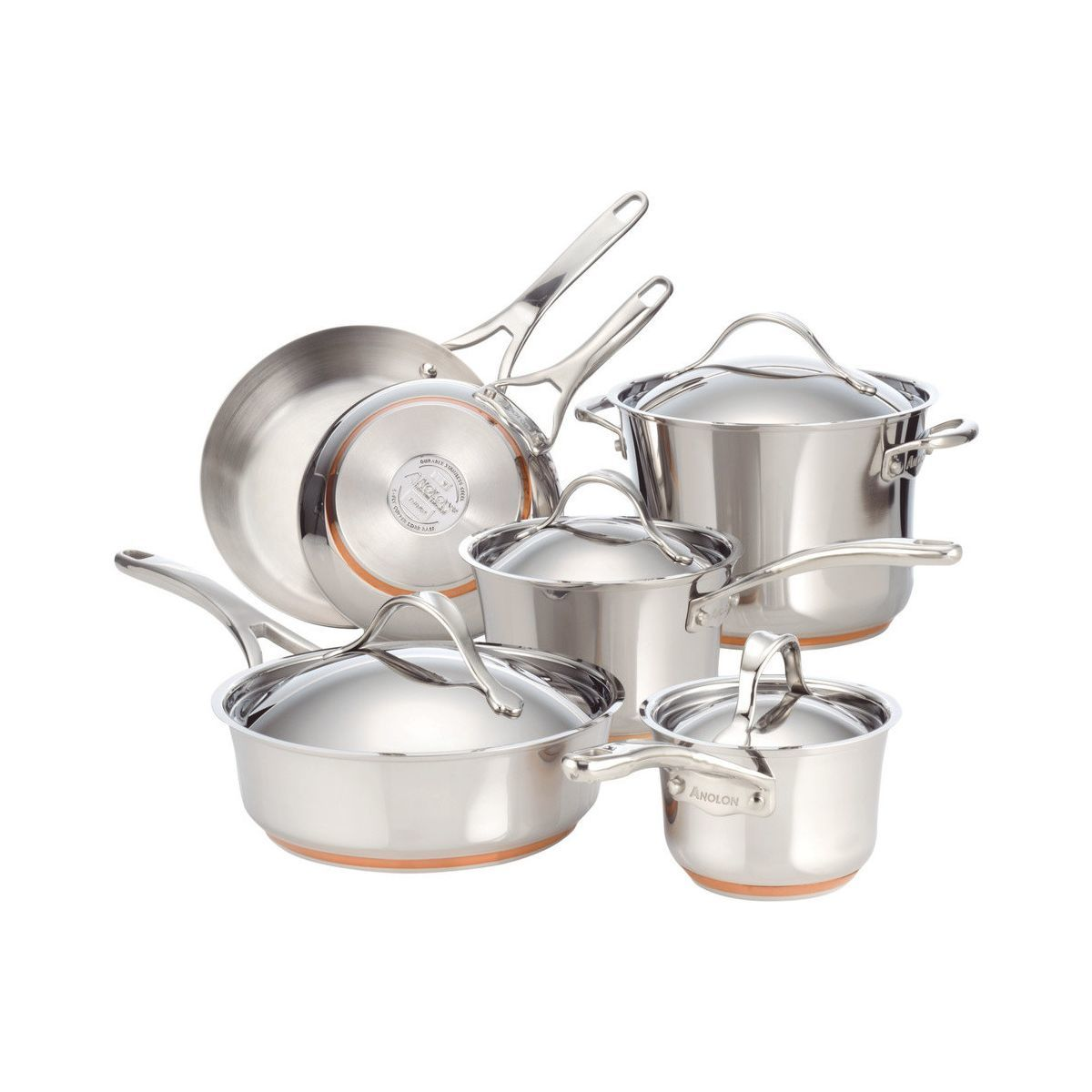 Houzz stainless steel cookware set photo