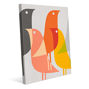 Canvas art with birds on it photo