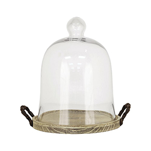Home Depot glass decorative dome photo