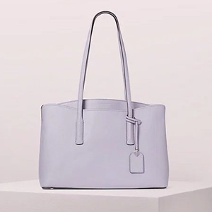 lavender leather tote by Kate Spade photo