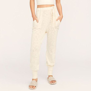 cream joggers from free people photo