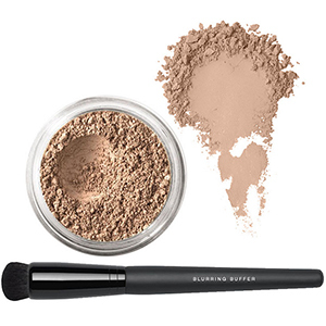 QVC bareMinerals Deluxe Bisque with Buffer Brush photo