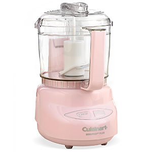 Light pink food processor by Cuisinart photo