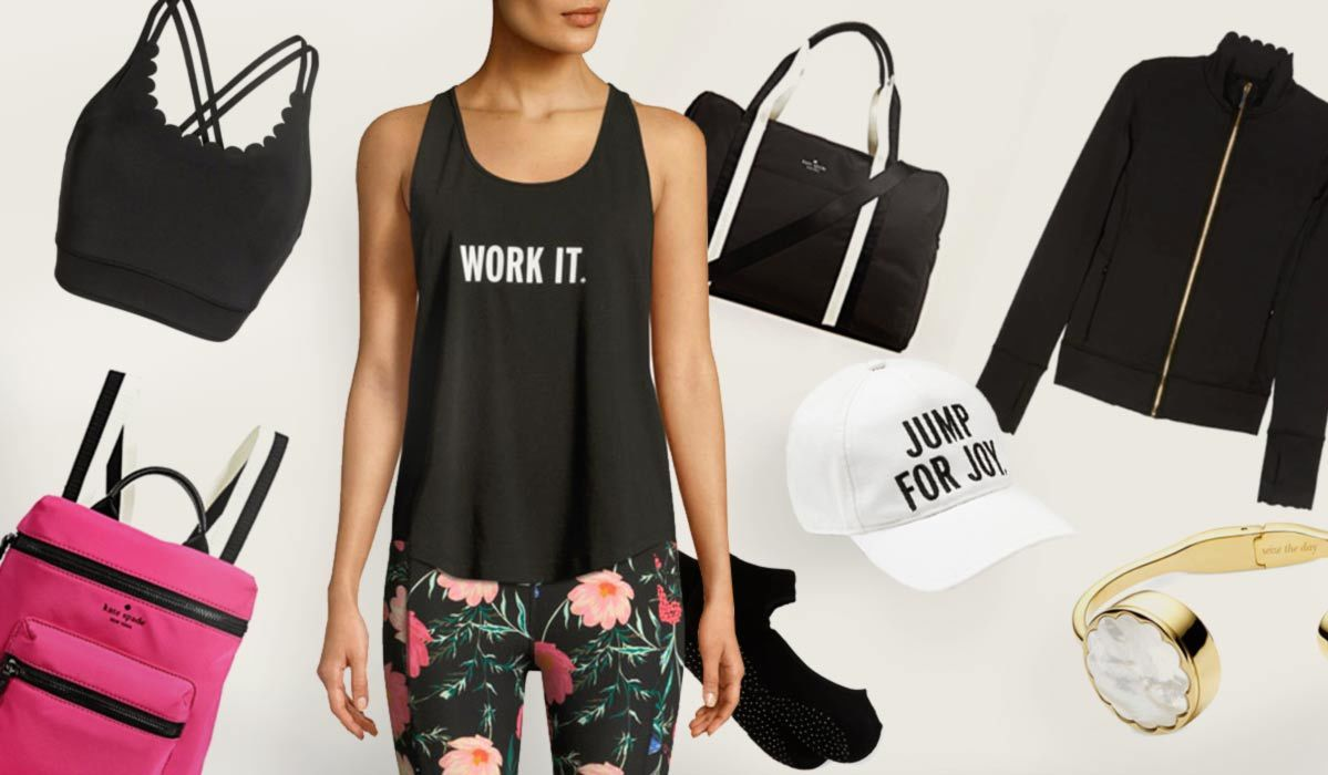 Kate Spade's Activewear Line Has Us Jumping for Joy