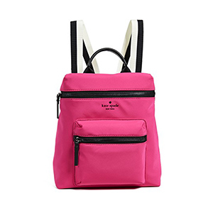 Hot pink convertible backpack by Kate Spade photo