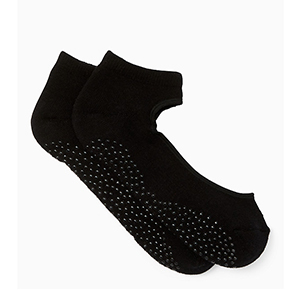 Black socks with no-show top by Kate Spade photo