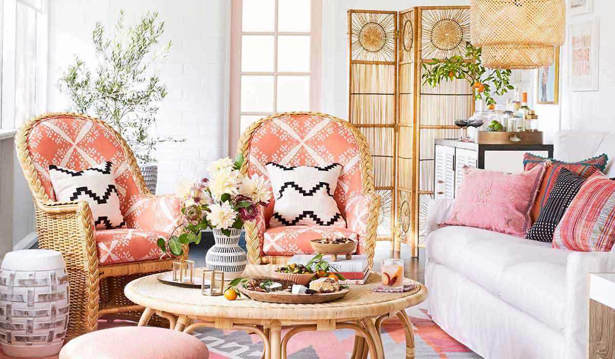 Wicker Wonders: Rattan Furniture for a Boho Space