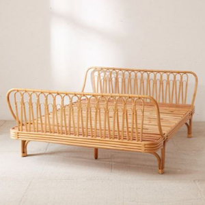 Rattan bed from Urban Outfitters photo