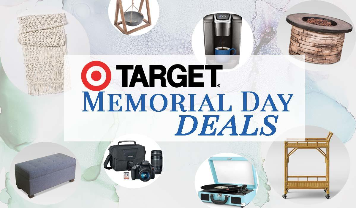 Our Editors' Top Memorial Day Deals from Target