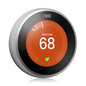 Nest thermostat at Macy's photo