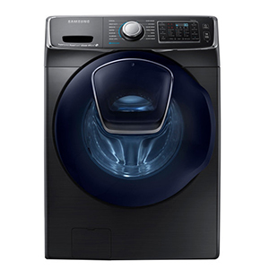 Samsung washer with smartphone connectivity photo