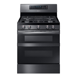 Samsung range with dual ovens photo