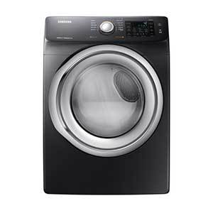 Samsung dryer with smartphone connectivity photo