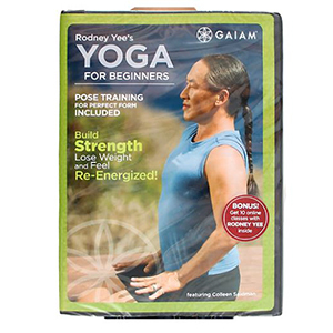 Gaiam Rodney Yee's Yoga for Beginners workout video photo