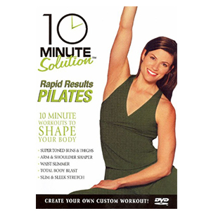 10 Minute Solution: Rapid Results Pilates workout DVD photo