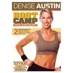Denise Austin Boot Camp: Total Body Blast workout video photo