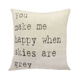 Houzz throw pillow with
